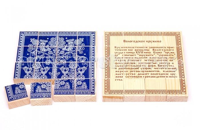Томик Пазл Вологодское кружево 16 деталей от Акушерство