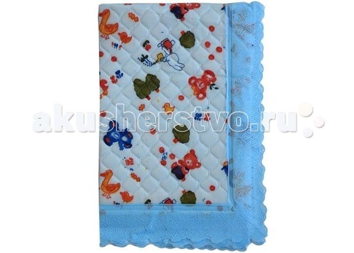 Пеленка Сказка Подстилка непромокаемая с широкой окантовкой 43х53 см
