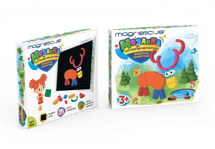 Magneticus Мозаика магнитная Забавные животные