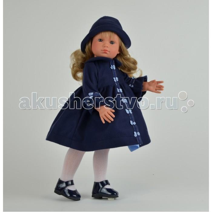 ASI Кукла Нелли 43 см 253030Кукла Нелли 43 см 253030Кукла, размер 43 см, выполнена из винила, длинные светлые волосы, в синем комплекте, в красивой подарочной коробке.<br>