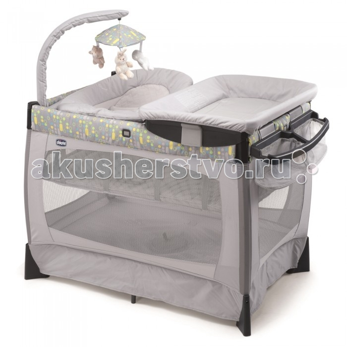 Манеж Chicco Lullaby Silver