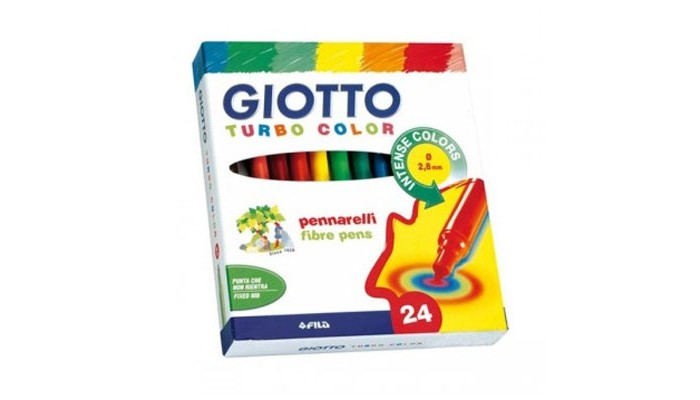 ���������� Giotto Turbo Colour 24 ����� 71500
