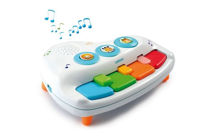 Музыкальная игрушка Smoby Пианино 6 мелодий от Акушерство