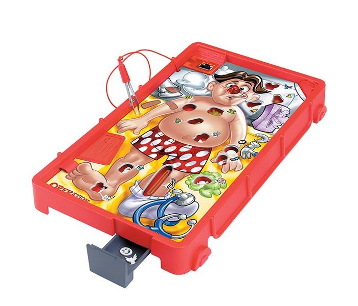 Hasbro Games Настольная игра операция обновленнаяGames Настольная игра операция обновленнаяHasbro Games Настольная игра операция обновленная. Увлекательная, очень неординарная игра от HASBRO (Хасбро), которая послужит не только развлекательным, но и обучающим целям. Используя медицинский инструмент, юные хирурги должны «вылечить» игрушечного человечка от различных болезней, не причинив пациенту вреда.  С помощью этой забавного игрового набора, ребёнок познакомится с анатомическим строением человека, с легкостью запомнит расположение костей и органов. Кроме того, эта настольная игра способствует развитию ловкости рук, аккуратности, памяти и внимания.   Играть в Операцию можно как вдвоем, так и с большим количеством участником. Победителем признается игрок, которому удалось избавить пациента от наибольшего числа «заболеваний».<br>