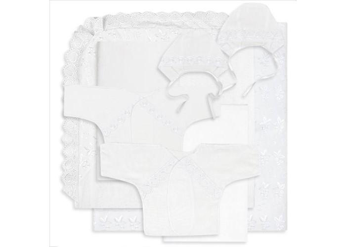 Комплект на выписку Карапуз К-1-КИ (8 предметов)К-1-КИ (8 предметов)Комплект на выписку Карапуз К-1-КИ (8 предметов) изготовлен из качественных, натуральных материалов, белье безопасно и гипоаллергенно.  В комплекте: уголок кружевной,  пеленка фланелевая 120х80,  пеленка ситец 120х80,  чепчик фланелевый гладкокрашенный с кружевной отделкой,  чепчик ситец гладкокрашенный с кружевной отделкой,  пододеяльник с одной стороны из шитья в цвет комплекта 125х120,  распашенка фланелевая,  распашонка ситец<br>