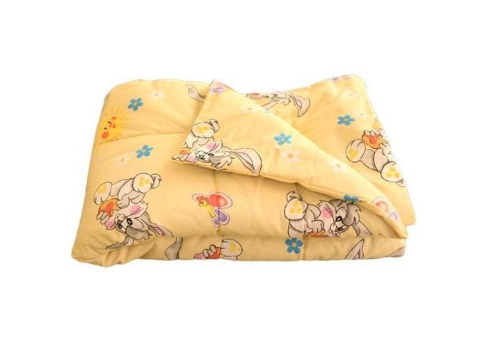 Одеяло Карапуз тонкое шерстяное 110х140