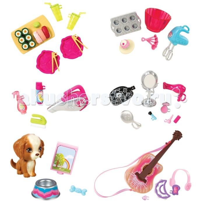 Barbie Набор-мини Барби элементов декора CFB50