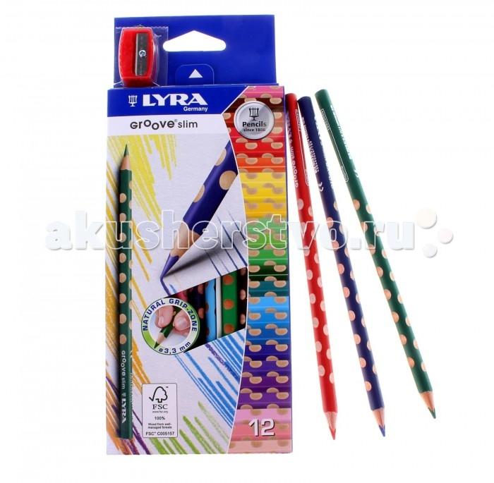 Lyra Lyra Groove Slim цветные с эргономичным захватом по всей длине от Акушерство
