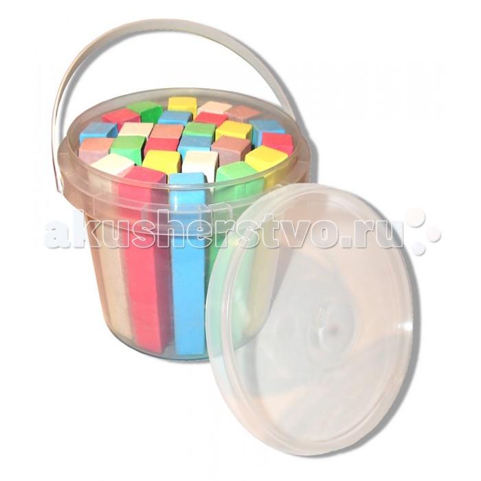 Мелки Мелан цветные 5 цв., 25 шт. в пластиковом ведёрке MSK 025Cцветные 5 цв., 25 шт. в пластиковом ведёрке MSK 025CМел цветной 5 цв., 25 шт. в пластиковом ведёрке MSK 025C  Пластиковое ведёрко 0,35 л. с ручкой и крышкой, самоклеющаяся этикетка  Благодаря рисованию Ваш малыш будет развивать свои творческие способности, фантазию и мелкую моторику рук.<br>