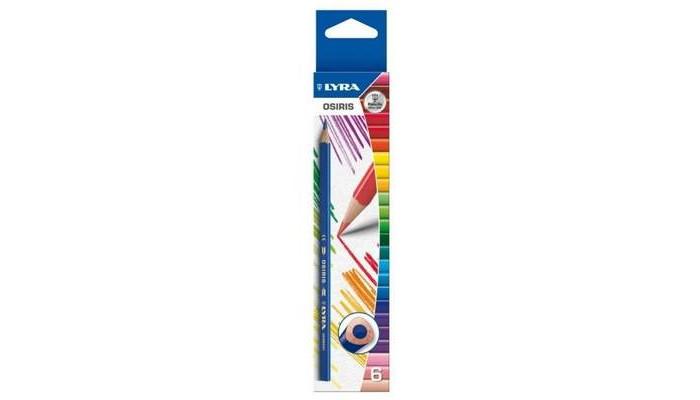 Lyra Osiris Цветные треугольное сечение 6 цветов