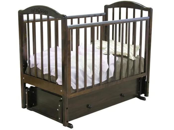Купить Детские кроватки Руслан С-725 (маятник универсальный)  Детские кроватки Можга (Красная Звезда)