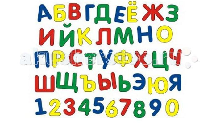 Флексика Мозаика мягкая Алфавит + Цифры
