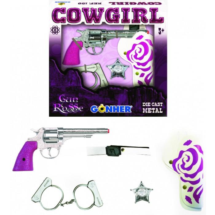 Gonher Игрушка Ковбойский набор розовый 159/2F