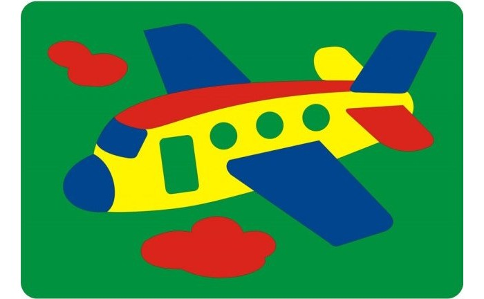 Флексика Мозаика Самолетик от Акушерство