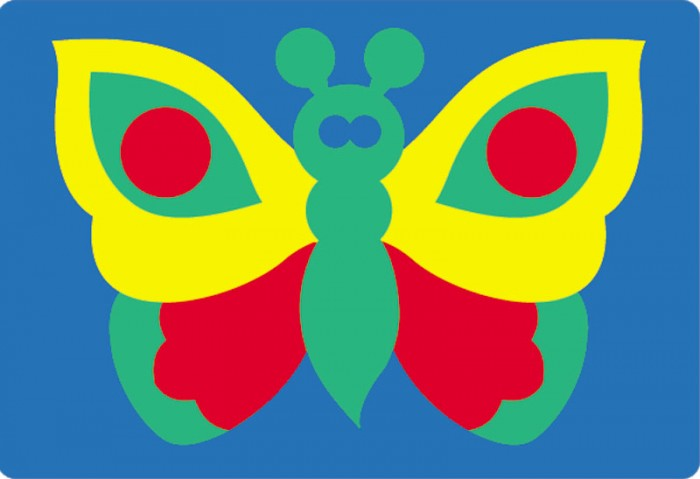 Флексика Мозаика Бабочка 45301