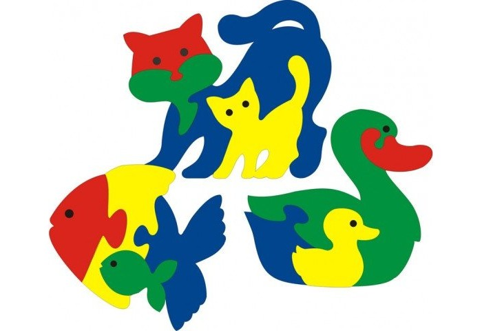 Флексика Мозаика Фигурки животных 3 шт №2 от Акушерство