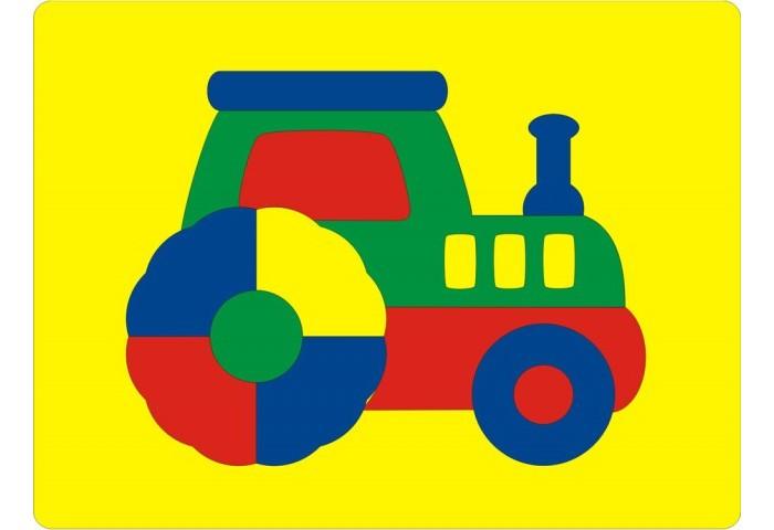 Флексика Мозаика Трактор 45542Мозаика Трактор 45542Флексика Мозаика Трактор обязательно понравится Вашему малышу и займет его внимание надолго.   Мозаика изготовлена из мягкого полимерного материала - современного, легкого, прочного, абсолютно безопасного для ребенка. Мозаика способствует развитию и тренировке памяти, пространственного восприятия и мелкой моторики малыша. Помогает изучить простейшие геометрические фигуры, цвета, счет. Фигурки вынимаются из формы, ими можно играть отдельно. А потом сложить обратно, соблюдая определенную логику и последовательность.  Самое замечательное, что развивающие игры Флексика подойдут даже самым активным детишкам, ведь детали из мягкого пластика не поддаются детским укусам и их сложно порвать.<br>