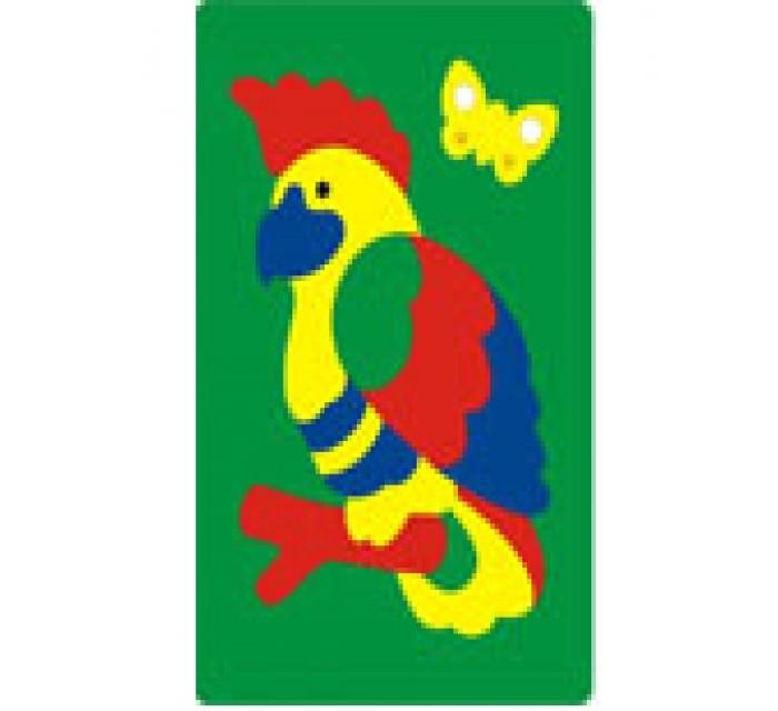 Флексика Мозаика Попугай