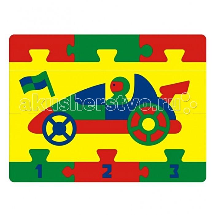 Флексика Мозаика Гоночная машинаМозаика Гоночная машинаФлексика Мозаика Гоночная машина обязательно понравится Вашему малышу и займет его внимание надолго.   Мозаика изготовлена из мягкого полимерного материала - современного, легкого, прочного, абсолютно безопасного для ребенка. Мозаика способствует развитию и тренировке памяти, пространственного восприятия и мелкой моторики малыша. Помогает изучить простейшие геометрические фигуры, цвета, счет. Фигурки вынимаются из формы, ими можно играть отдельно. А потом сложить обратно, соблюдая определенную логику и последовательность.  Самое замечательное, что развивающие игры Флексика подойдут даже самым активным детишкам, ведь детали из мягкого пластика не поддаются детским укусам и их сложно порвать.<br>