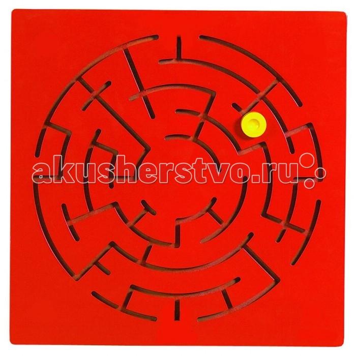 Деревянная игрушка Beleduc Настенный игровой элемент ЛабиринтНастенный игровой элемент ЛабиринтBeleduc Настенный игровой элемент Лабиринт для ребенка от 3-х лет.   Цель игры «Лабиринт» – проверить ловкость и наблюдательность ребенка.Задача игры – найти правильный путь, перемещая диск от точки старта до точки финиша. Однако на пути игрока встретится несколько тупиков, затрудняющих успешное прохождение лабиринта. Игра способствует развитию мышления, внимания, зрительного восприятия.   В комплекте: игровая доска,  набор инструкций,  4 винтика с колпачками<br>