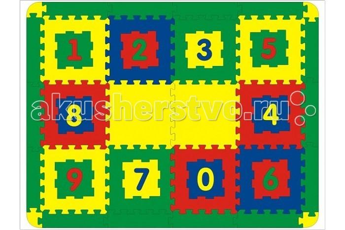 Игровой коврик Флексика 12 деталей12 деталейИгровой коврик Флексика 12 деталей с выдавливающимися цифрами замечательная игрушка пазл для Вашего малыша. С помощью игрушки ребенок выучит цифры и научится считать.   Получается 12 самостоятельных игрушек, а вкупе — объемный конструктор, из которого можно сложить домик, кубик и т.д.   Коврик можно просто расстелить на полу, в ожидании пока малыш дорастет до других его функций.  Толщина коврика почти 1 см, материал плотный, безопасный (вспененный полиэтилен), гибкий, не ломается и не имеет острых углов.  Размер коврика в собранном виде 172 х 64 см (это если сложить 2 х 6 квадратиков) или 92 х 120 см ( если сложить 3 х 4).   Размер одного квадрата 30 х 30 см<br>