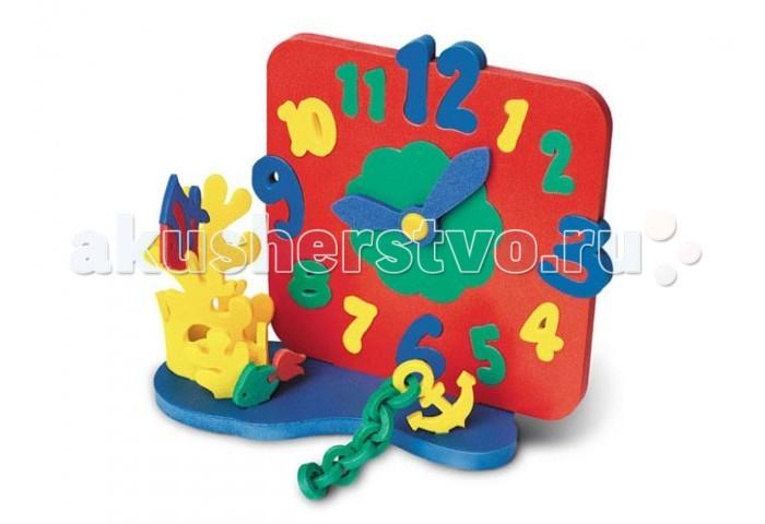 Развивающая игрушка Флексика Часы без механизма МорскиеЧасы без механизма МорскиеФлексика Часы без механизма Морские знакомит ребенка со взрослым миром окружающих его предметов.  Она обучит простому счету, поможет расширить воображение, развить логическое мышление и пространственное восприятие в процессе конструирования из отдельных деталей объемных сюжетов.   Эта игрушка послужит наглядным учебным пособием, т. к. ее конструктивная особенность дает возможность ребенку самому передвигать стрелки и учиться определять время.<br>