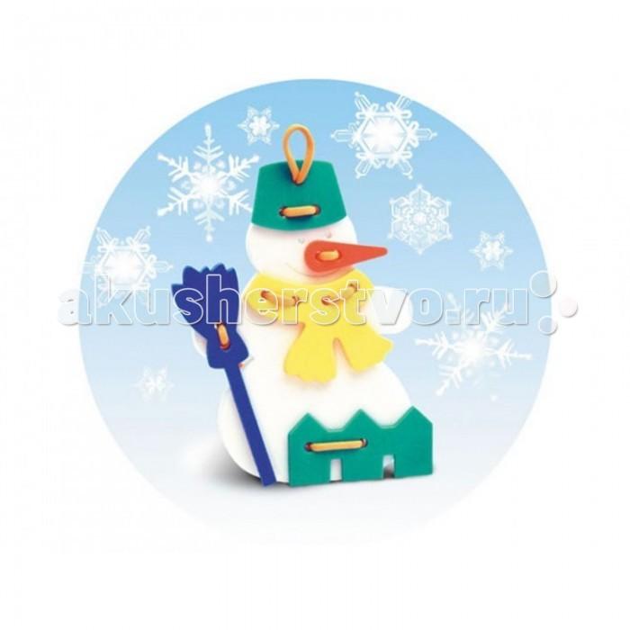 Развивающая игрушка Флексика Шнуровка Снеговичок от Акушерство