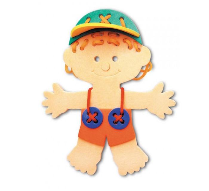 Развивающая игрушка Флексика Шнуровка Мальчик от Акушерство