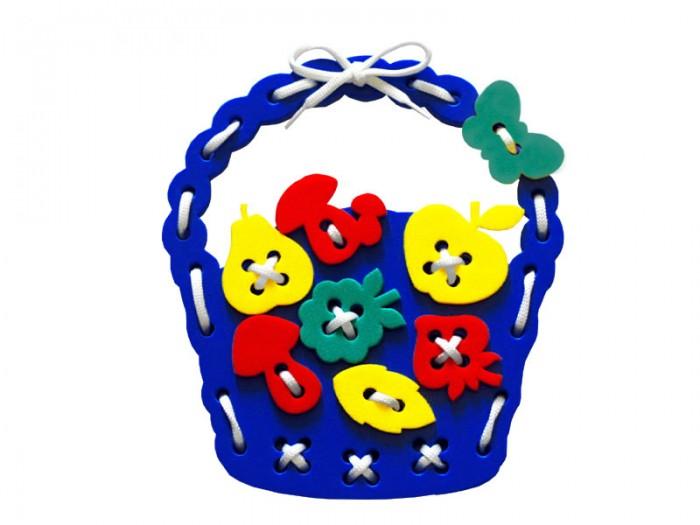 Развивающая игрушка Флексика Шнуровка Корзиночка