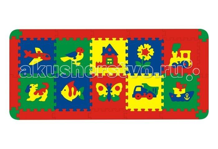 Игровой коврик Флексика Ассорти 10 деталей