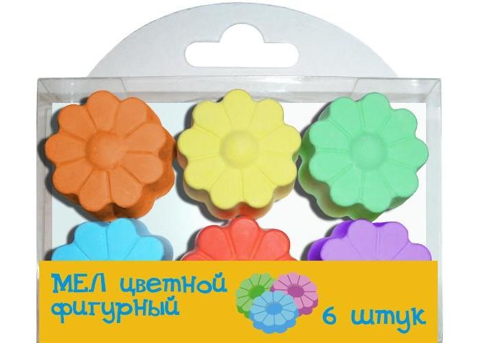 Мелки Мелан цветные фигурные Цветочки