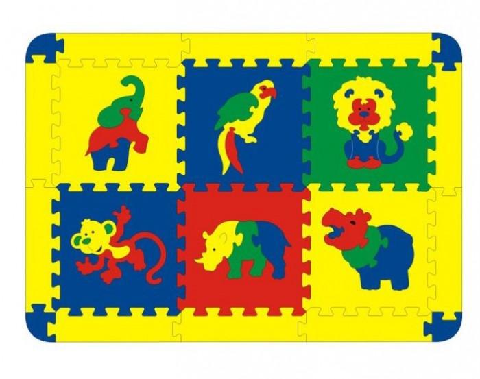 Игровой коврик Флексика Африка 6 деталей