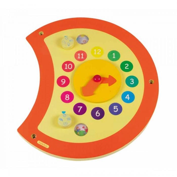 Деревянная игрушка Beleduc Настенный игровой элемент Гусеница Часы