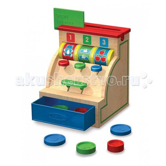 Деревянная игрушка Melissa &amp; Doug Сортировщик КассаСортировщик КассаMelissa & Doug Сортировщик Касса обязательно понравится вашей малышке и займет ее внимание надолго.  Детские игрушки из дерева таят в себе глубокий смысл, это единение с природой, и ваш оберег. Деревянные детские игрушки раскрывают сказочный мир, который живет внутри нас, вместе с ними сказка оживает.  Игрушка развивает мелкую моторику рук и логическое мышление.<br>