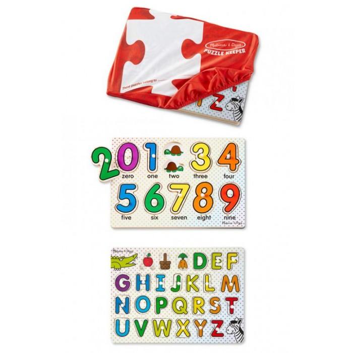 Деревянная игрушка Melissa &amp; Doug Пазл Буквы и цифрыПазл Буквы и цифрыMelissa & Doug Пазл Буквы и цифры обязательно понравится вашему малышу и займет его внимание надолго.  Детские игрушки из дерева таят в себе глубокий смысл, это единение с природой, и ваш оберег. Деревянные детские игрушки раскрывают сказочный мир, который живет внутри нас, вместе с ними сказка оживает.  Игрушка развивает мелкую моторику рук и логическое мышление.<br>