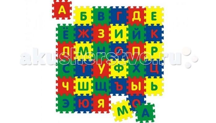 Игровой коврик Флексика с алфавитом 36 деталей