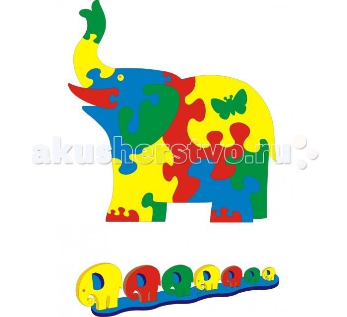 Игровой коврик Флексика Слон 15 деталей