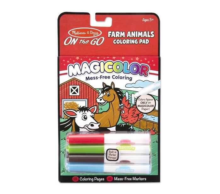 Раскраска Melissa & Doug Животные с Фермы от Акушерство