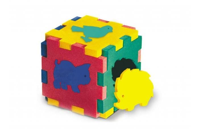 Конструктор Флексика Кубик с животнымиКубик с животнымиКонструктор Флексика Кубик с животными выполнены из мягкого, прочного, нетоксичного и абсолютно безопасного материала.   3 игрушки заключены в одной:  рамки-вкладыши — фигурки животных вынимаются. Материал мягкий, плотный и легкий рамки имеют выемки-замочки и могут соединяться друг с другом как паззлы может быть использована для игры в ванной, ведь намоченная водой игрушка прилипает к кафелю. Они развивают у ребёнка память, воображение, фантазию, моторику, пространственное и логическое мышление. Набор знакомит ребёнка с основными цветами, развивает внимание.<br>