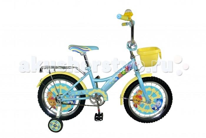 Велосипед двухколесный Navigator Фиксики 18 KiteФиксики 18 KiteВелосипед Navigator Фиксики 18 Kite - это хорошо собранный и надёжный велосипед для ребёнка. Модель подойдет для ребенка ростом 115-135 см. Детский велосипед с ярким дизайном и популярной лицензией Фиксики.  Велосипед оснащен клаксоном, багажником и корзиной для игрушек. Катание на велосипеде благоприятно влияет на здоровье, укрепляет мышцы, развивает зрение, учит ориентироваться в пространстве и принимать решения.   Особенности: Тип: детский Материал рамы: сталь Амортизация: отсутствует Конструкция вилки: жесткая Конструкция рулевой колонки: неинтегрированная, резьбовая Диаметр колес: 18 дюймов Материал обода: алюминиевый сплав Двойной обод: нет Шатун: односоставной Возможность крепления боковых колес: есть Боковые колеса в комплекте: есть Тип переднего тормоза: отсутствует Тип заднего тормоза: ножной Уровень заднего тормоза: начальный Количество скоростей: 1 Уровень каретки: начальный Конструкция каретки: неинтегрированная Тип посадочной части вала каретки: квадрат Количество звезд в кассете: 1 Количество звезд системы: 1 Конструкция педалей: платформы Конструкция руля: изогнутый Настройка положения руля: регулируемый подъем Материал рамки седла: сталь Комфорт: защита цепи, мягкая накладка на руле<br>