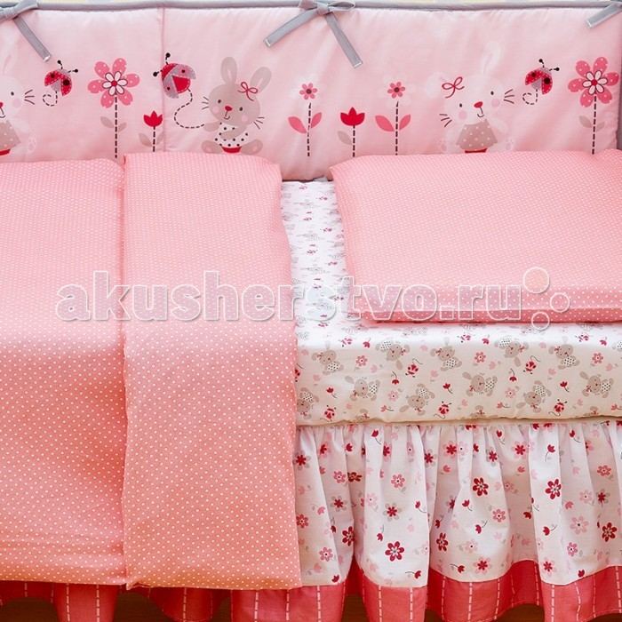 Постельное белье Giovanni Shapito Pink (2 предмета) от Акушерство