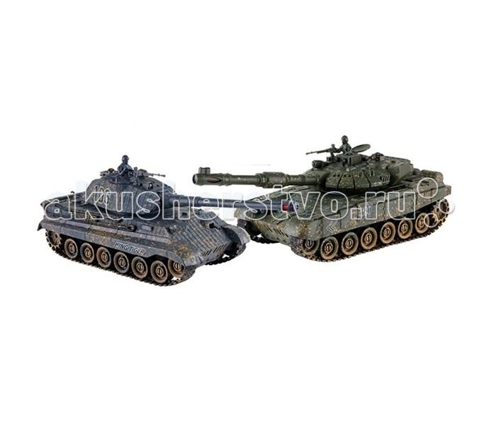 Yako Танковый бой 1:24 Королевский тигр против Т90