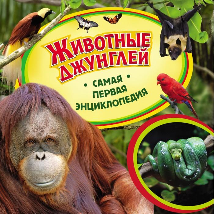 Росмэн Самая первая энциклопедия Животные джунглей
