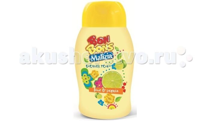 Malizia Пена для душа Lime and Peony 250 мл