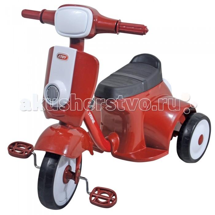 Велосипед трехколесный 1 Toy Мотороллер от Акушерство