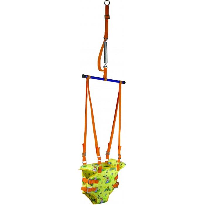 Прыгунки Фея Тренажер 2 в 1Тренажер 2 в 1сидение-штанишки крепление - металлическое кольцо стальная сверхпрочная пружина, снабжена предохранительным ремнем, ограничивающим размах колебаний и увеличивающим безопасность подарочная упаковка размеры упаковки: 36 х 27 х 8 см<br>