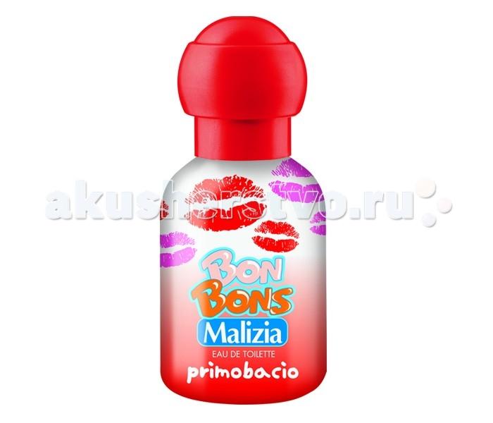 Malizia Туалетная вода Primobacio 50 млТуалетная вода Primobacio 50 млMalizia Туалетная вода Primobacio 50 мл.  Cвежий, волнующий, как первый поцелуй, веселый, как улыбка. Разработана специально для детской, чуствительной кожи. Гиппоаллергенно. Не содержит агрессивных компонентов.<br>