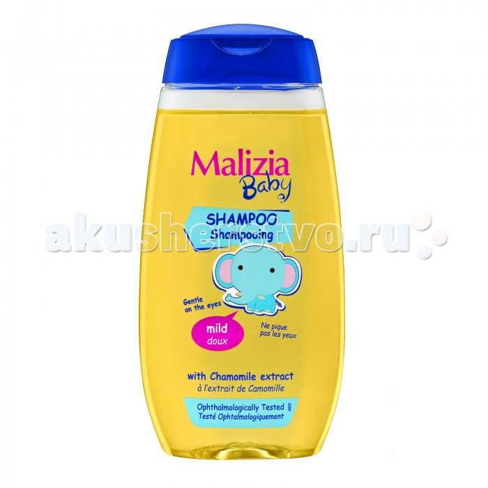Malizia Шампунь Baby 320 млШампунь Baby 320 млMalizia Шампунь Baby 320 мл.  Шампунь очищает нежную кожу и волосы малыша. Разработан для особо чувствительной кожи, безопасен при попадании в глаза и не вызывает аллергии.   Применение: Не содержит парабенов, алкоголя.<br>