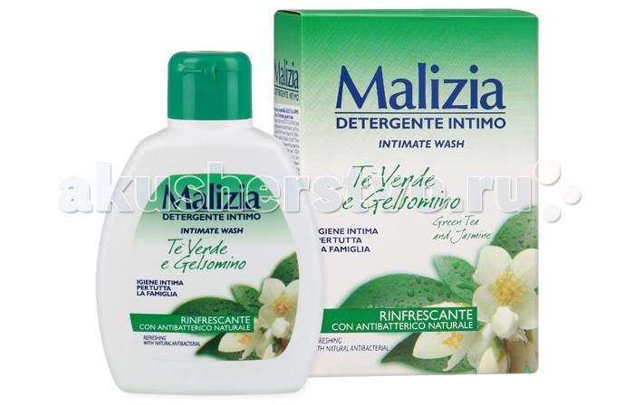 Malizia Гель для интимной гигиены зеленый чай и жасмин 200 мл