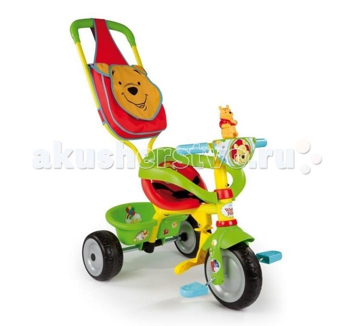 Велосипед трехколесный Smoby Be Fun Confort Winni